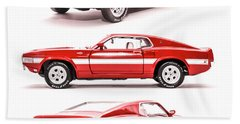 Shelby Gt500  Bath Towel