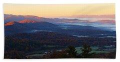 Shenandoah Mountains Bath Towel