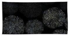 Shibori Sea Urchin Burst Pattern Hand Towel