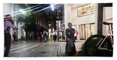 Shinjuku Man Hand Towel