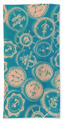 Ship Shape Nautical Designs Hand Towel