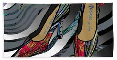 Shoes By Joan - Dragon Fly Wing Pumps Hand Towel