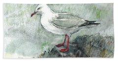 Silver Gull Hand Towel