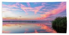 Bath Towel featuring the photograph Simple Reflections by Russell Pugh