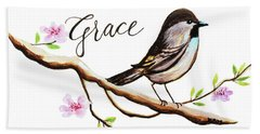Sing Grace Hand Towel