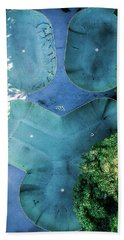 Skatepark - Aerial Photography Bath Towel