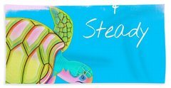 Slow And Steady Hand Towel