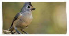 Small Titmouse Bath Towel