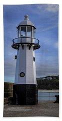 Smeaton's Pier Lighthouse Bath Towel