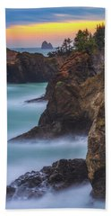 Smooth Water At Thunder Rock Bath Towel