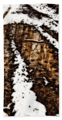 Snow Bound Reflections Bath Towel