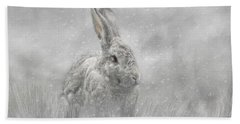 Snow Bunny Bath Towel