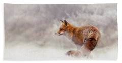 Snow Fox Series - Lost In This World Hand Towel