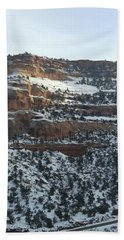 Snow Steps Hand Towel