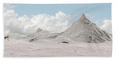 Snowy Mountain 007 Hand Towel