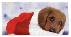 Snuggle Puppy Hand Towel