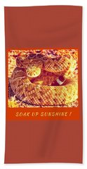 Bath Towel featuring the photograph Soak Up Sunshine by Judy Kennedy
