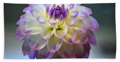 Bath Towel featuring the photograph Soft Focus Dahlia by Patti Whitten