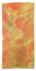Soft Orange Colors 2 Hand Towel