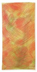 Soft Orange Colors 2 Bath Towel
