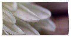 Soft White Petals-1 Hand Towel