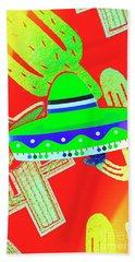 Sombrero Salsa Hand Towel