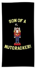 Son Of A Nutcracker Bath Towel