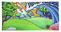South Texas Disc Golf Bath Towel