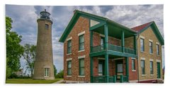 Southport Lighthouse  Bath Towel