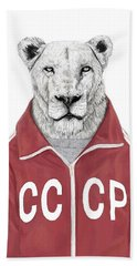 Soviet Lion Bath Towel