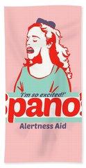Spano's Alertness Aid Hand Towel