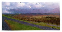 Spean Bridge Painting Bath Towel