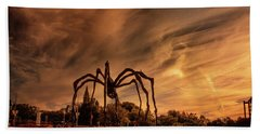 Spider Maman - Ottawa Bath Towel