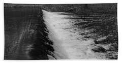 Spillway In Detail - Waterloo Village Hand Towel