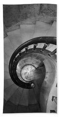 Spiral Staircase, Lakewood  Cemetary Chapel Hand Towel