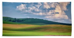 Spring Afternoon In The Palouse Hand Towel