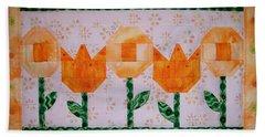 Spring Flowers Bath Towel