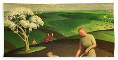 Spring In The Country, 1941 Bath Towel