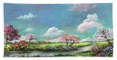 Spring In The Garden Of Eden Hand Towel