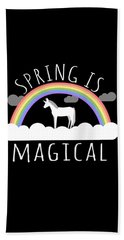 Spring Is Magical Bath Towel