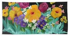 Spring Wishes Hand Towel