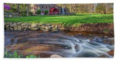 Springtime At The Grist Mill Bath Towel
