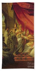 St Augustine Ordained As The Bishop Of Hippo Bath Towel