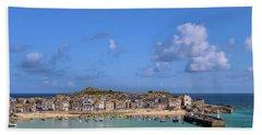 St Ives Cornwall - General View Bath Towel