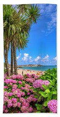 St Ives Cornwall - Summer Time Bath Towel