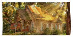 St. James Santee Episcopal Chapel Of Ease Bath Towel