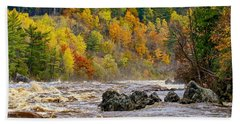 St. Louis River At Jay Cooke Bath Towel