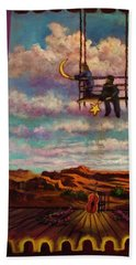 Starry Day Hand Towel