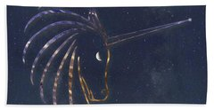 Star Unicorn Hand Towel