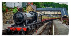 Steam Locomotive Wales Hand Towel
